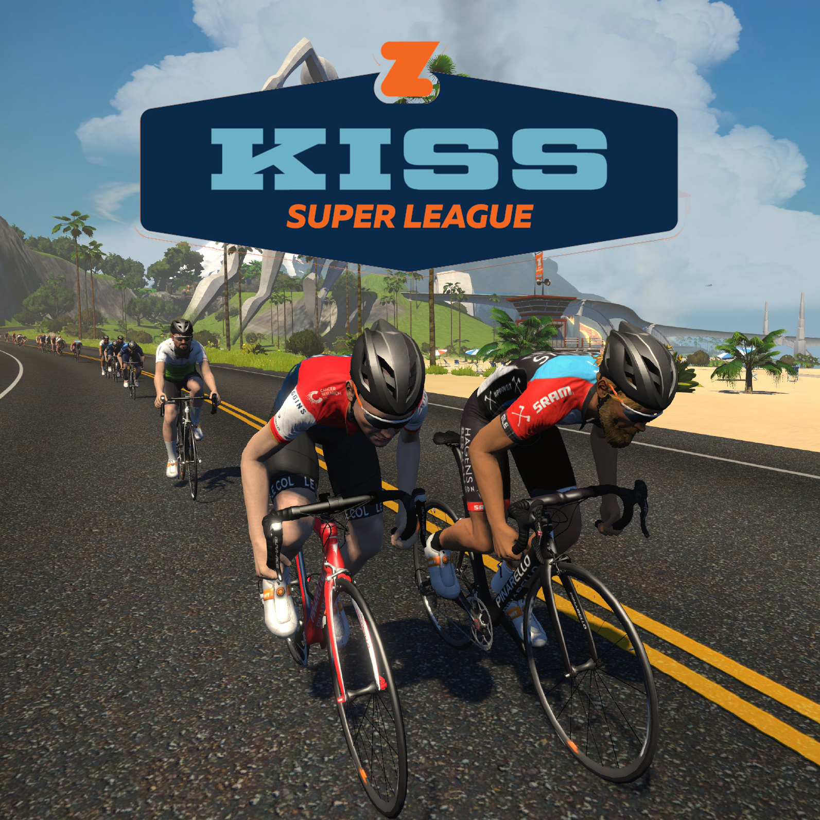 zwift super league esport