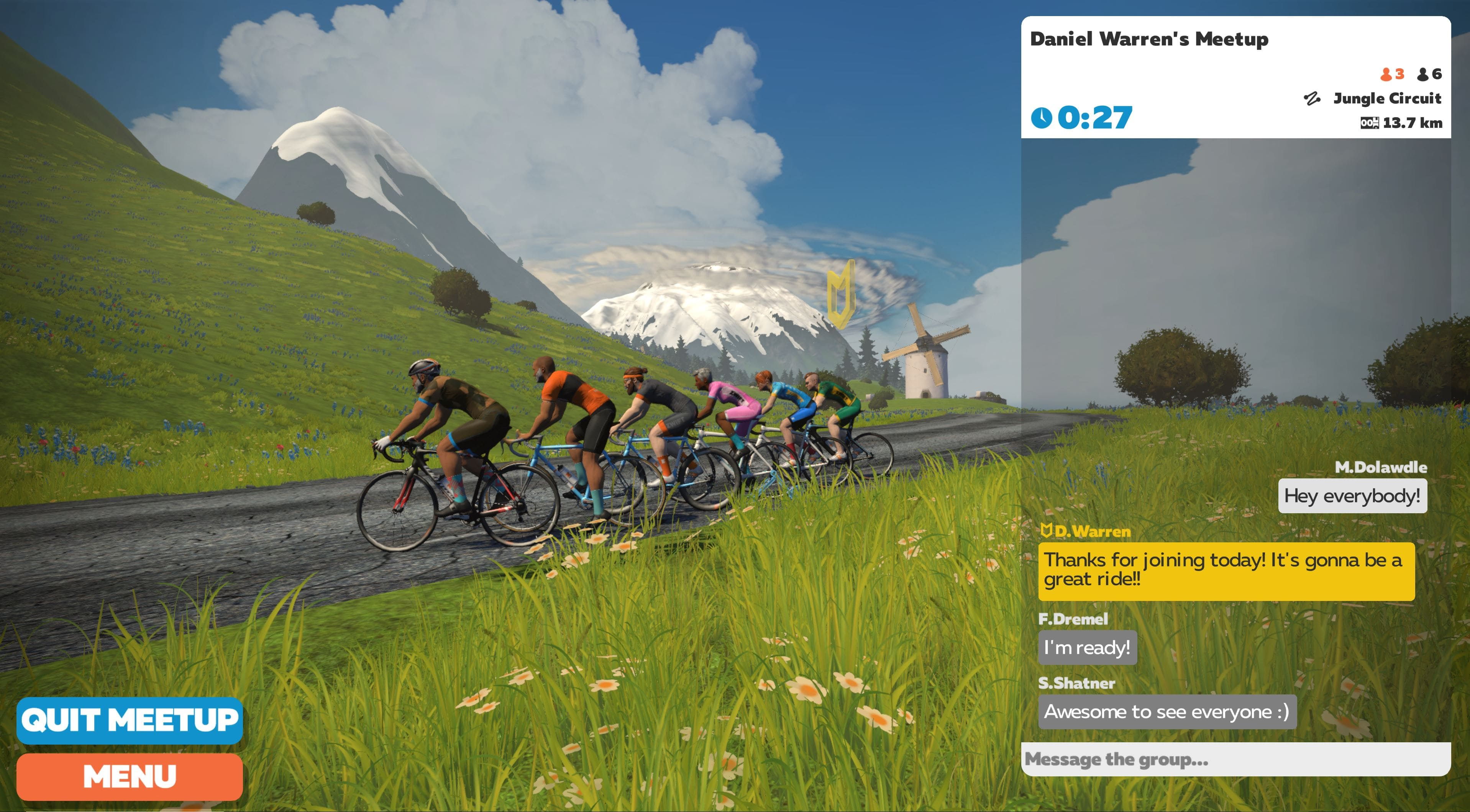zwift meetups
