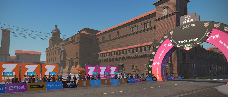Il Giro d'Italia su Zwift